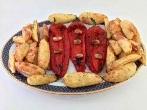Zapečena paprika sa krompirom