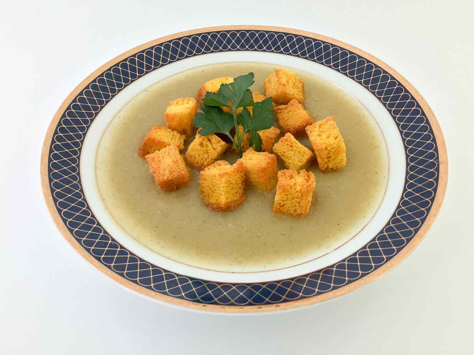 Krem supa sa krutonima