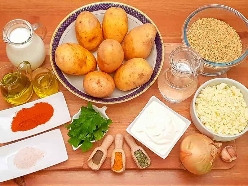 Vegetarijanska musaka sa krompirom