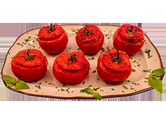 Pečeni punjeni paradajz